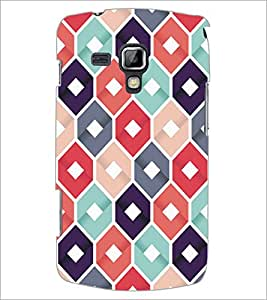 PrintDhaba Pattern D-5286 Back Case Cover for SAMSUNG GALAXY S DUOS S7562 (Multi-Coloured)