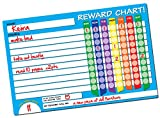 Dry Erase Reward Chart by Easy Study Tools ● X-LARGE 17in x 11in ● Restickable Behavior / Chore Responsibility Wall Decal ● Great For Kids & Toddlers