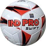 Indpro Unisex Swift Football 5 Black Red