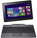 "Asus Transformer Book T100TAF-BING-DK001B PC portable Hybride Tactile 10,1"" Gris (Intel Atom, 1 Go de RAM, Disque dur eMMC 32 Go, Windows 8.1) + Microsoft Office 365 inclus"