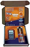 Gillette Fusion Special Subscribe and Save blades and one shave gel - Pack of 3