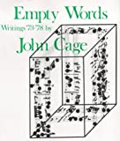Empty Words (0714527041) by Cage, John