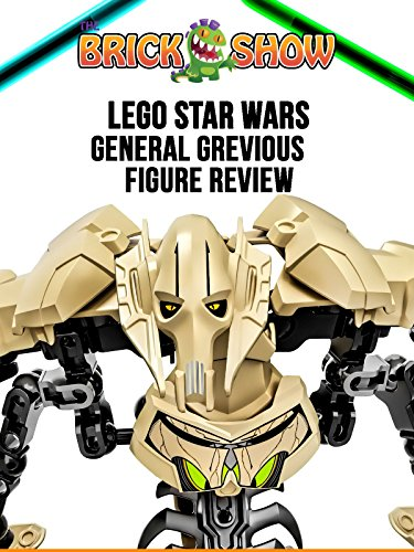 General Grevious Buildable Figure Review (75112)