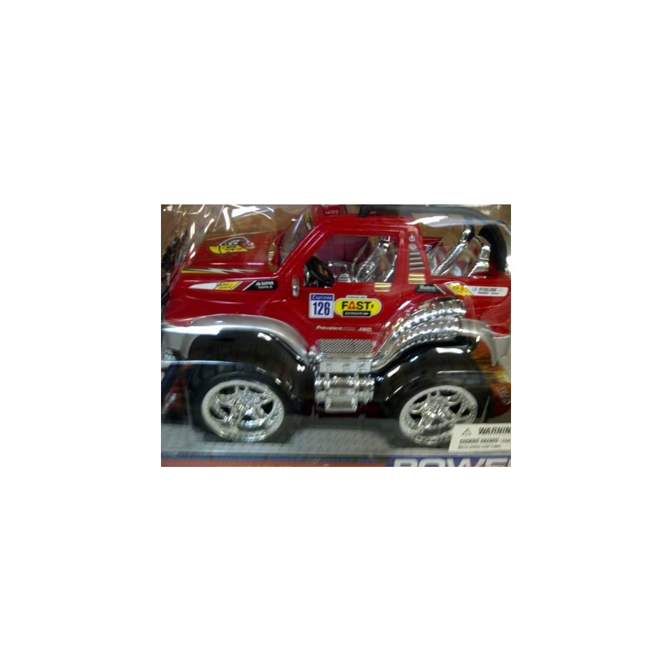 CROSS COUNTRY MONSTER TRUCK Friction Powered Cross Country Car. High Speed. King of Cachet. High Speed Extreme Challenge. 12L X 8H X 8W (Colors May Vary)