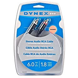 Dynex Stereo Audio Rca Cable