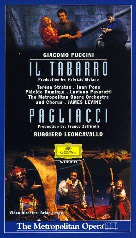 Puccini, Giacomo - Il Tabarro/Leoncavallo, Ruggiero - Pagliacci [VHS]
