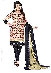 Balaji Fashion Women's cottan print suit D.NO2210_Multi-Coloured