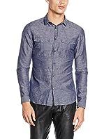 Belstaff Camisa Hombre Kelsey (Azul Marino)