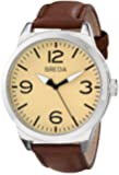 Breda Men's 8183B Watch With Brown Leather Band