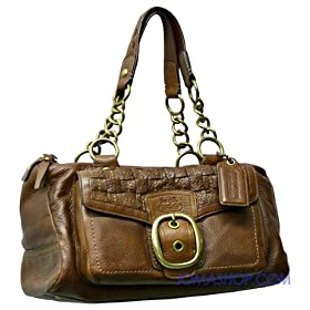 Coach Brown Leather Handbag 12417B4MA