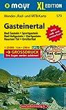 Gasteinertal XL: Wander-, Rad- und Mountainbikekarte. GPS-genau. 1:25000