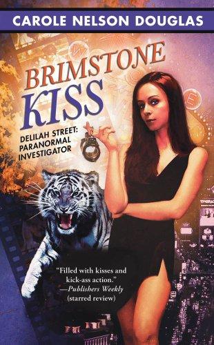 Image of Brimstone Kiss (Delilah Street, Paranormal Investigator)