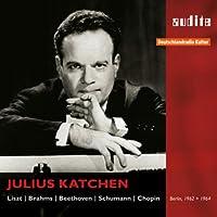 ジュリアス・カッチェン/ベルリンでの放送用セッション録音集1962、64~リスト、ブラームス、ベートーヴェン、シューマン、ショパン(2CD)