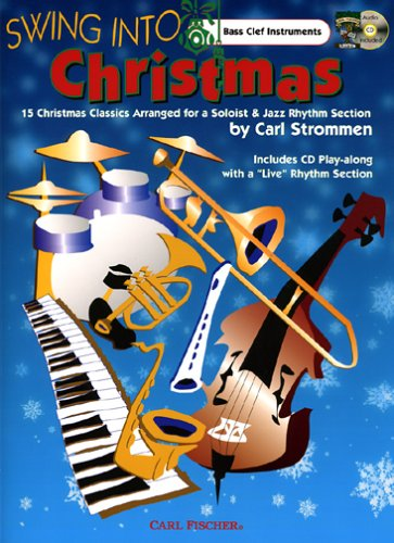 Swing Into Christmas - Bass Clef Inst. - BK/CD
