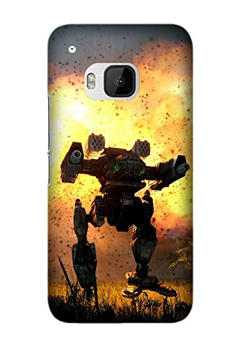 HTC One M9 Protective Case -Custom Game MechWarrior pattern Unique HTC One M9 Case