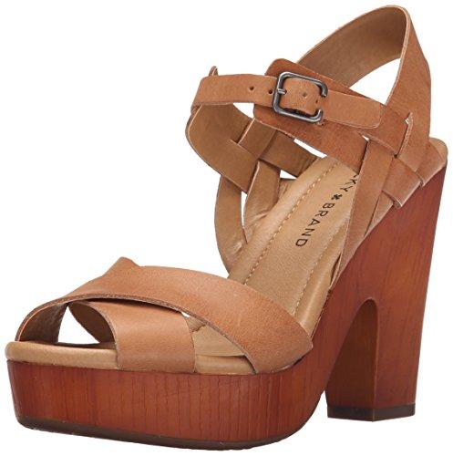 Lucky Women's Nova Dress Sandal, Clay, 8 M US (Wood Platform Shoes compare prices)