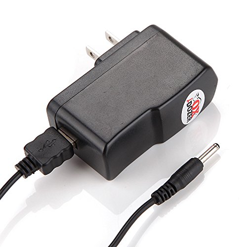 Power Supply (3M) for Xbmc / Kodi Android Tv Box with Round Jack Plug Fits Matricom G-box Mx2 / Matricom G-box Q / G-box Midnight / Skystreamx 4 / M8 Amlogic S802 / Ez-box Mx3 / Keedox 4g 8g / Mx Box Se