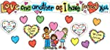 Carson Dellosa Christian Love One Another Bulletin Board Set (210020)