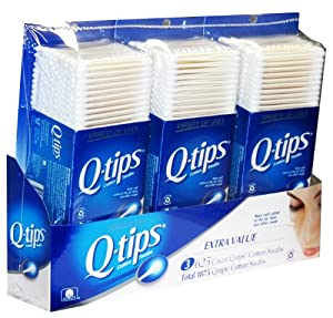 Q-tips Cotton Swabs 1875-Count