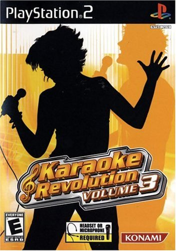 Karaoke Revolution Volume 3 - Playstation 2