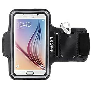 EnGive Brassard Sport Armband de Sport Pour Samsung Galaxy S6,Noir (samsung galaxy s6)