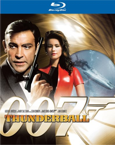 Cover art for  Thunderball [Blu-ray]