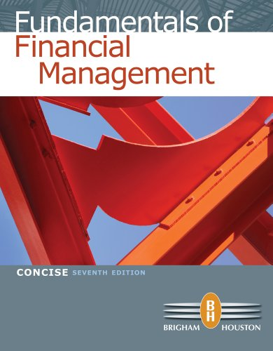 Bundle: Fundamentals of Financial Management,