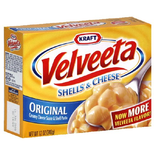 Velveeta Shells & Cheese Dinner, 12-Ounce Boxes (Pack of 12)