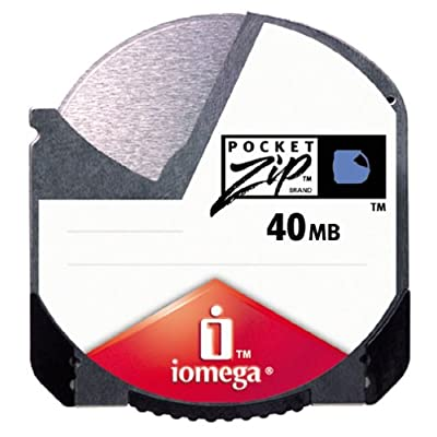 Iomega Pocket Zip 40MB PC Media (2-Pack)