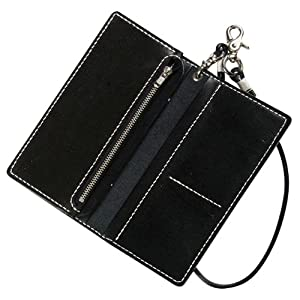 Kraft kit leather wallet (black) 14361-02 (japan import)