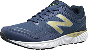 New Balance Women's W520V2 Running Shoe, Navy, 8 B US