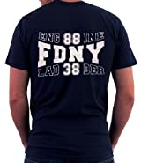 ENGINE 88 LADDER 38 HOUSE T-SHIRT