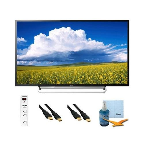 """40"""" Led Full Hd 1080P Smart Tv Motionflow Xr 240 Plus Hook-Up Bundle Kdl40W600B. Bundle Includes Tv, 3 Outlet Surge Protector With 2 Usb Ports, 2 -6 Ft High Speed 3D Ready 1080P Hdmi Cable, Performance Tv/Lcd Screen Cleaning Kit, And Cleaning Cloth."""