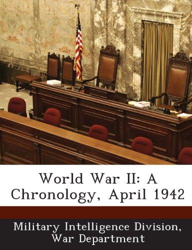 World War II: A Chronology, April 1942