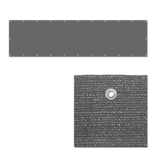 balkonbespannung windschutz balkonverkleidung. Black Bedroom Furniture Sets. Home Design Ideas