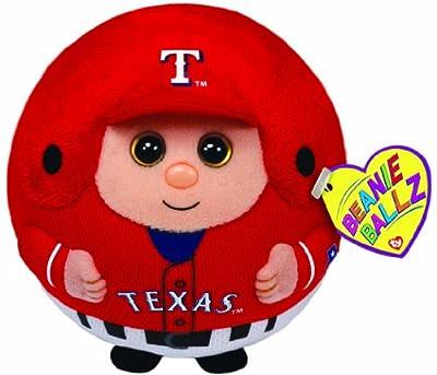 Ty Beanie Ballz MLB Texas Rangers Plush