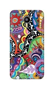 ZAPCASE PRINTED BACK COVER FOR MEIZU M2 NOTE - Multicolor