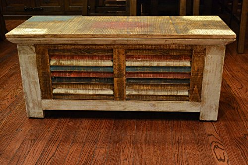Crafters And Weavers Rustic Distressed Reclaimed Solid