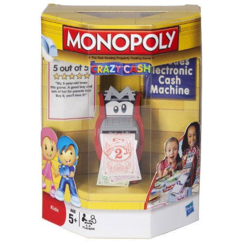 Monopoly Crazy Cash (Age: 5 Years And Up)(For 2-4 Players)