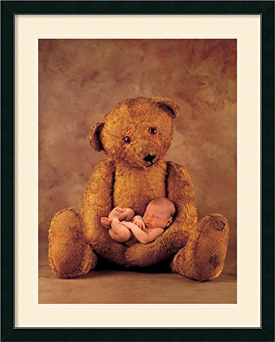 Campbell With Bear By Anne Geddes Framed front-727442