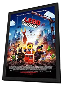 Amazon.com: The LEGO Movie 27x40 Framed Movie Poster (2014): Posters