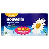 Nouvelle Softest Ever Toilet Tissue 16 Roll (Pack of 3 x 16Roll)
