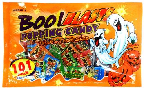 ハロウィン ポッピングキャンディーミックスバッグ 101g