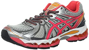 ASICS Women's GEL-Nimbus 15 Running Shoe,Lightning/Hot Punch/Marigold,7 2A Us