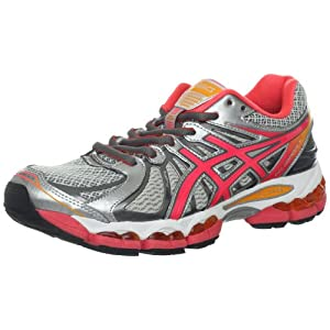 ASICS Women's GEL-Nimbus 15 Running Shoe,Lightning/Hot Punch/Marigold,8.5 M US