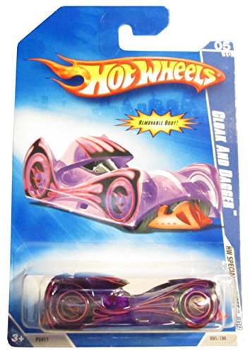 HOT WHEELS PURPLE SPECIAL FEATURES SERIES CLOAK AND DAGGER DIE-CAST - 1
