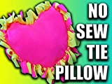 How to make a no sew tie pillow!