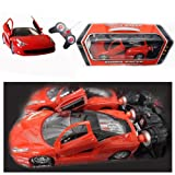 Super Racer Toy Car Ferrari Style RC Radio Control Boys Kids