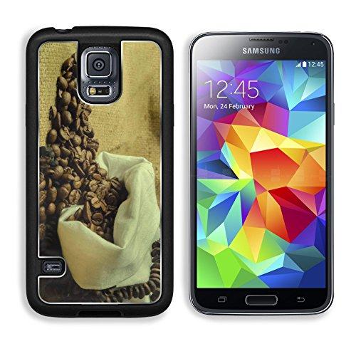 Coffee Beans In Burlap Sack 3Dcom Galaxy S5 Cover Premium Aluminium Design Tpu Case Open Ports Customized Made To Order