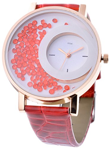Horse Head Kitcone Analogue Multi color Dial Movable Beads Womens watches ...